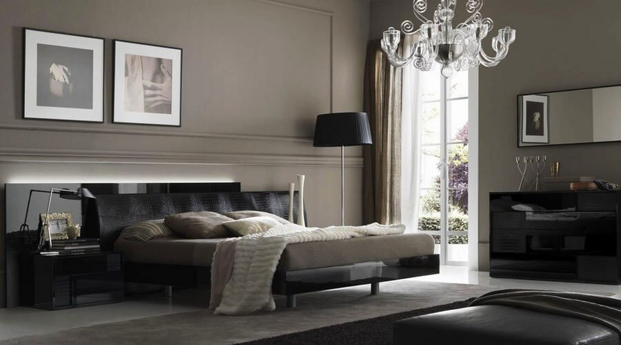 The Most Elegant And Dramatic Masculine Bedroom Designs Ever