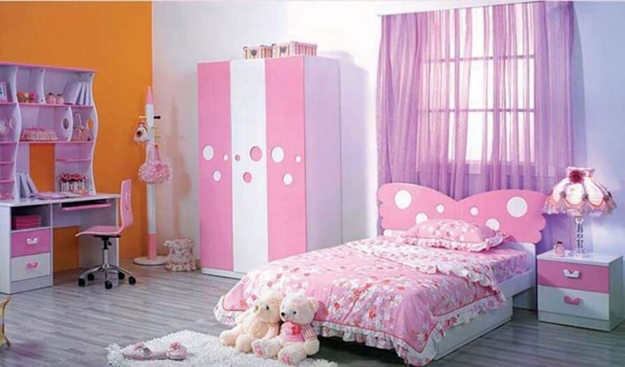 Perfect 10 Inspiring Teenage Girl Bedroom Interior Design Ideas Part 19