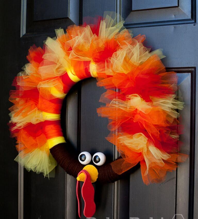Cute Thanksgiving Wreath
