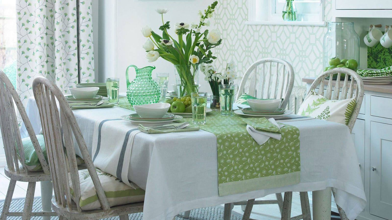 Green Dining Rooms