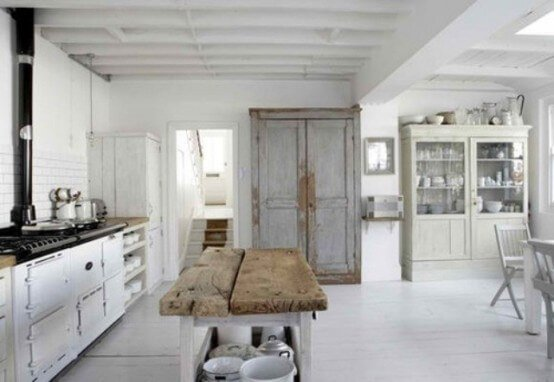 Awesome Scandinavian Rustic Kitchen