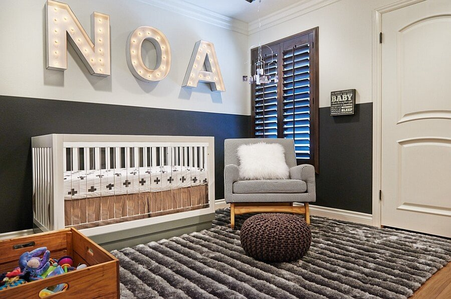 Top 8 amazingly modern baby nursery design ideas https for Baby room decoration boy