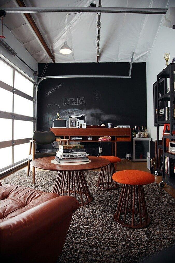 cool garage decorating ideas - Top 9 Industrial Home fice Design Ideas Interioridea