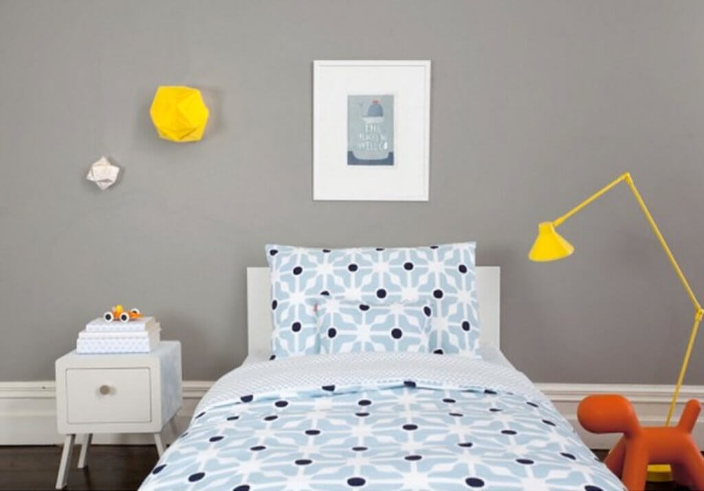 Bold Kid's Bedroom