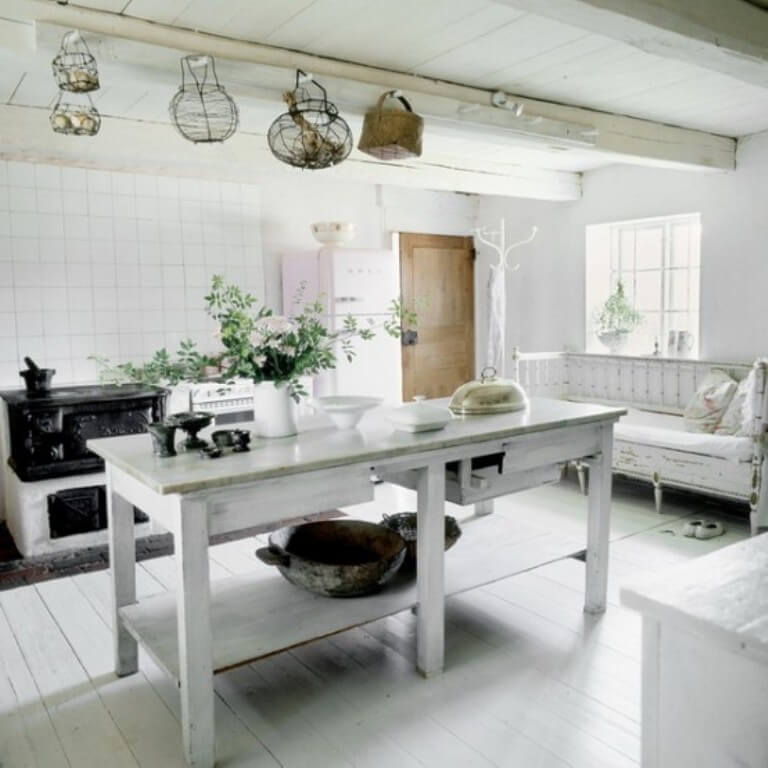 12 Rustic Scandinavian Kitchen Design Ideas