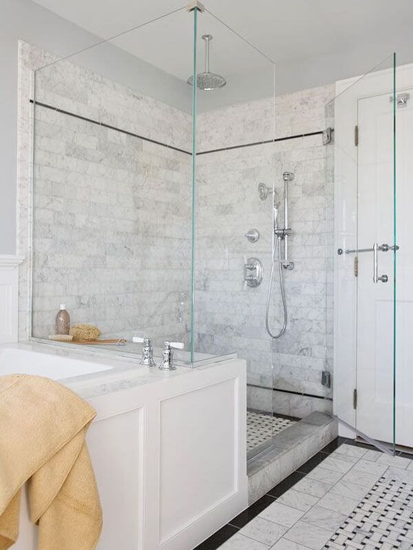 10 beautiful walk in shower design ideas https for Stand up shower ideas