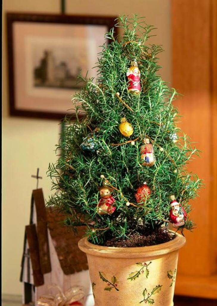Cool tabletop christmas trees for a festive touch
