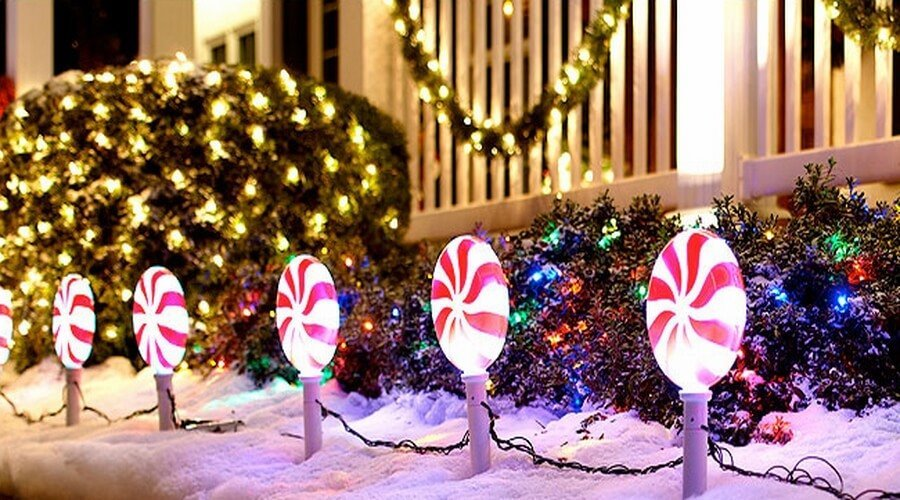Outdoor Christmas Decorating Ideas Outdoor Christmas