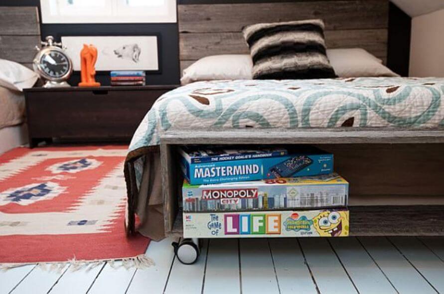 Attic Teen's Boy Bedroom