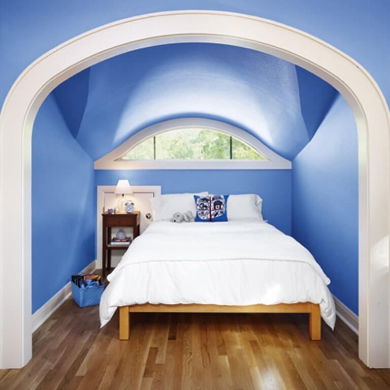 Blue-Attic-Bedroom