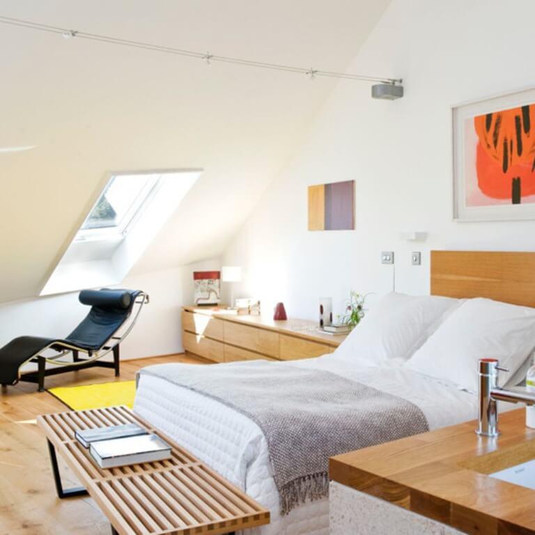 Contemporary-Attic-Bedroom