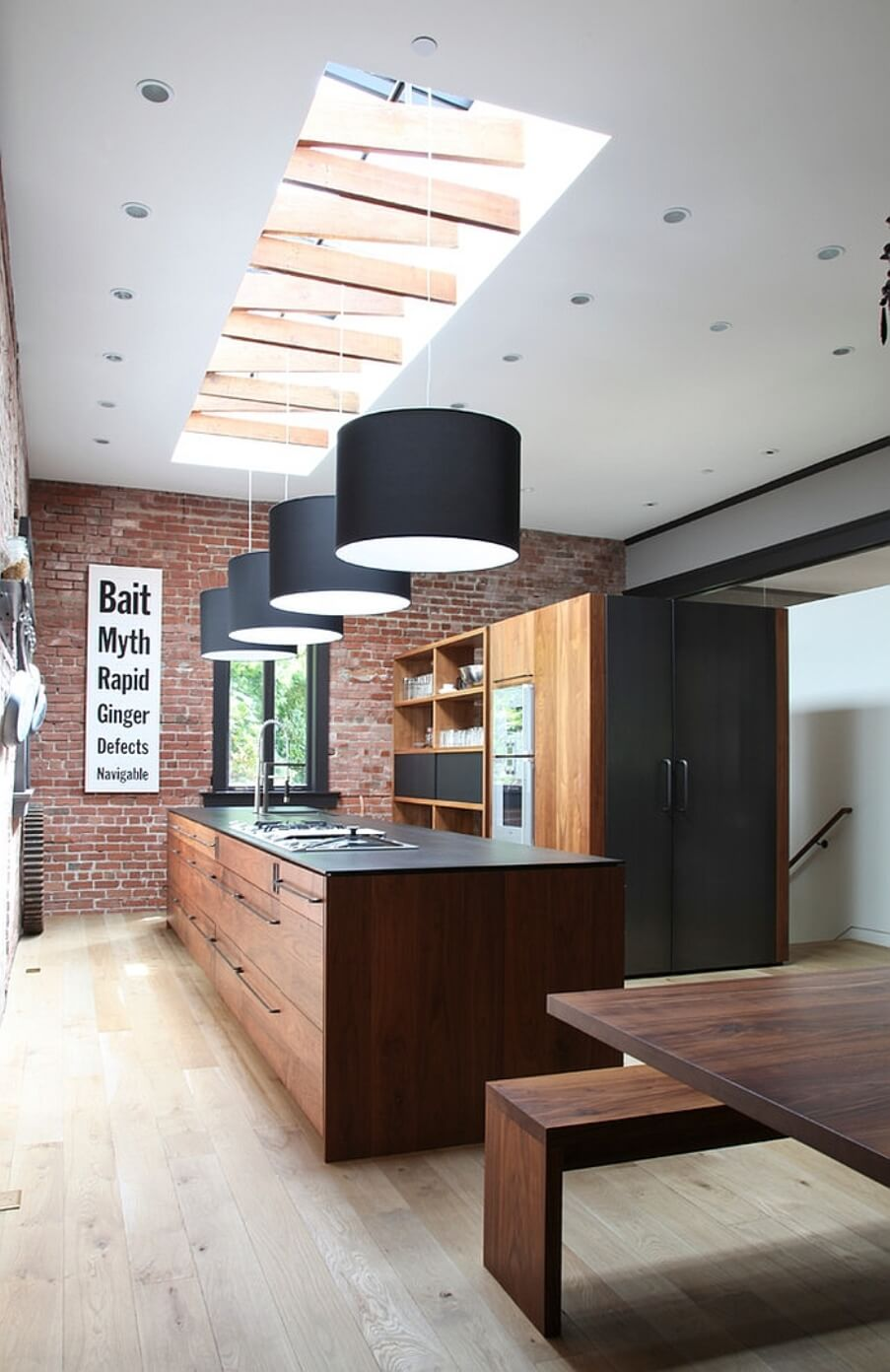 15 Airy And Beautiful Kitchen Designs With Skylights