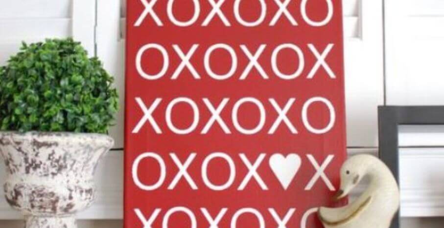 Cool Valentine's Sign
