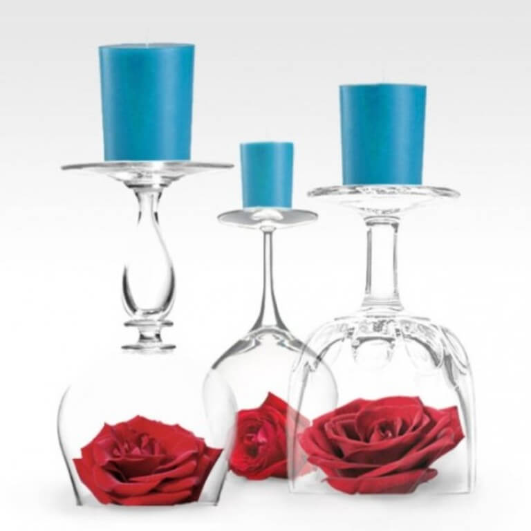 Creative Valentine's Candles