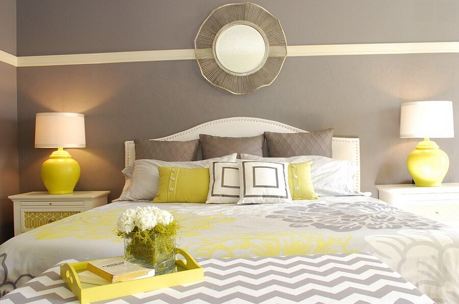 Best 12 Grey And Yellow Bedroom Design Ideas For Cozy And Modern Vibe Https