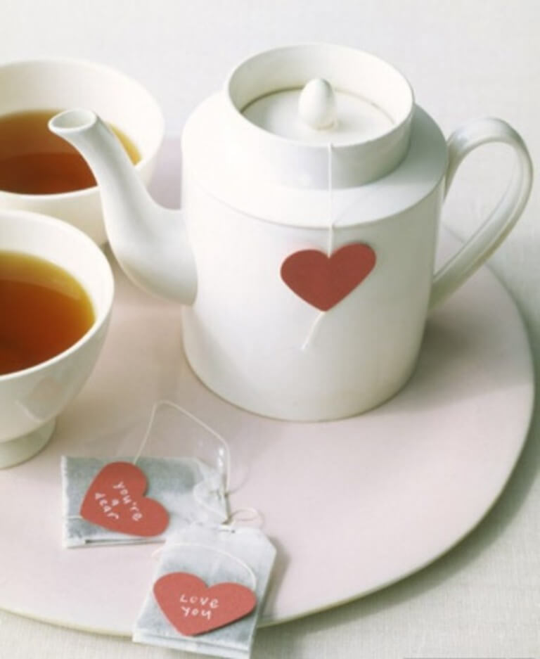 HEart Shape Tea filters