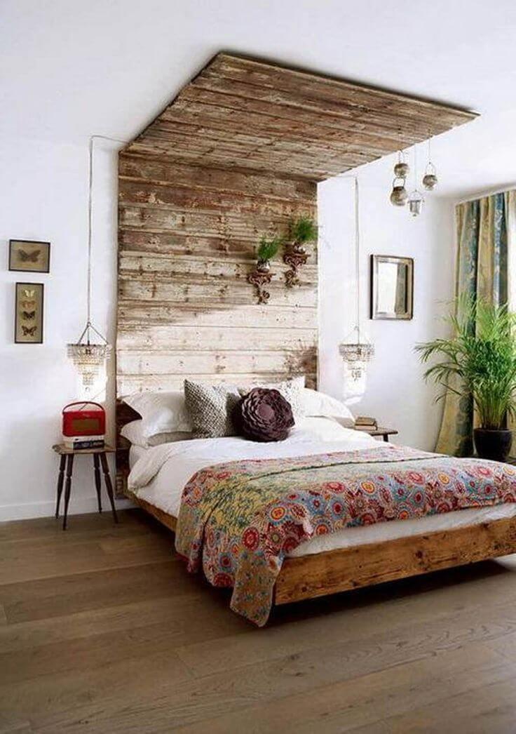 13 Bohemian Chic Bedroom Design Ideas - Interior Idea on Boho Bedroom  id=51987