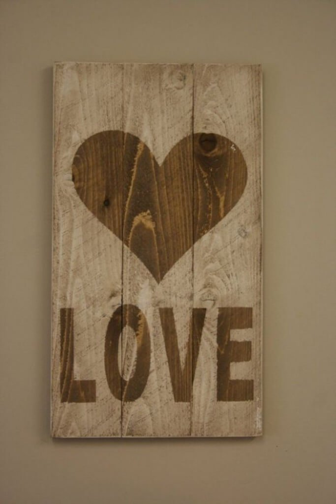 Love Valentine's Sign