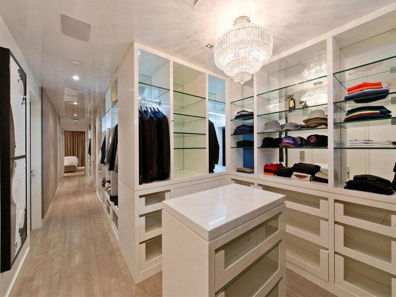 Walk in closet for men masculine closet design 9