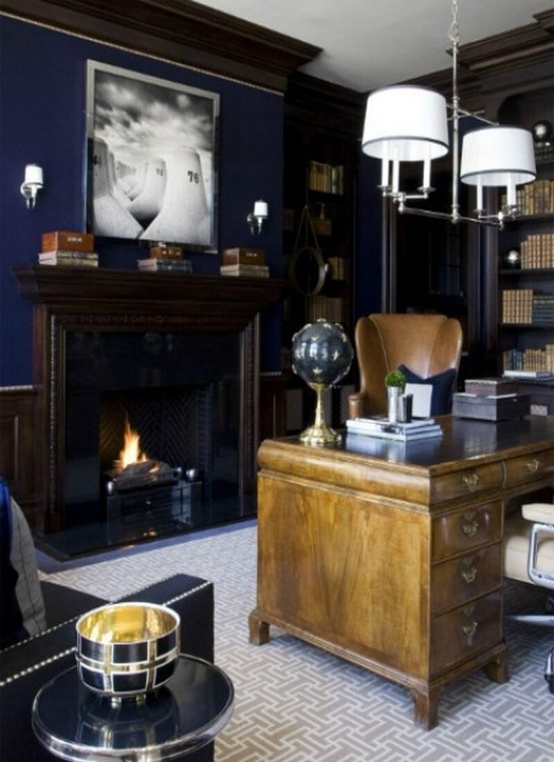 10 Stylish Masculine Home Office Designs To Amaze