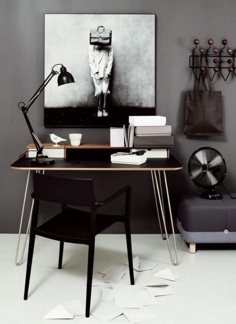 12 Cool Scandinavian Home Office Designs You 39 Ll Love