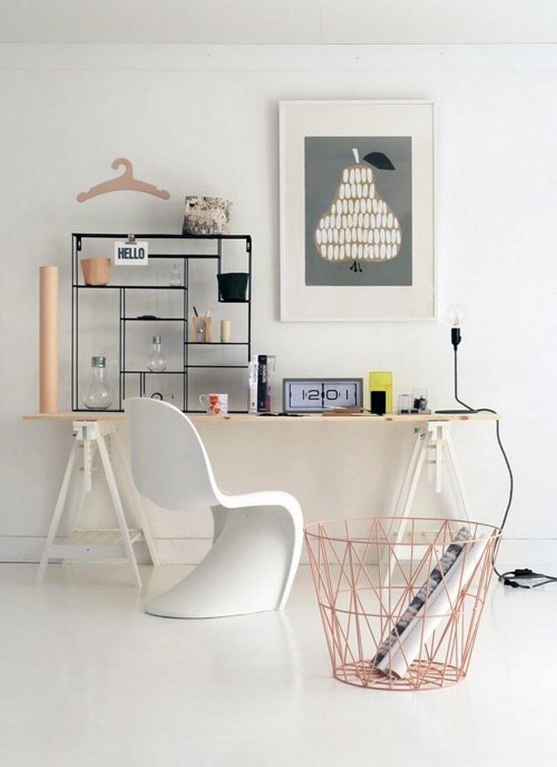 12 cool scandinavian home office designs you 39 ll love for Cool home office designs