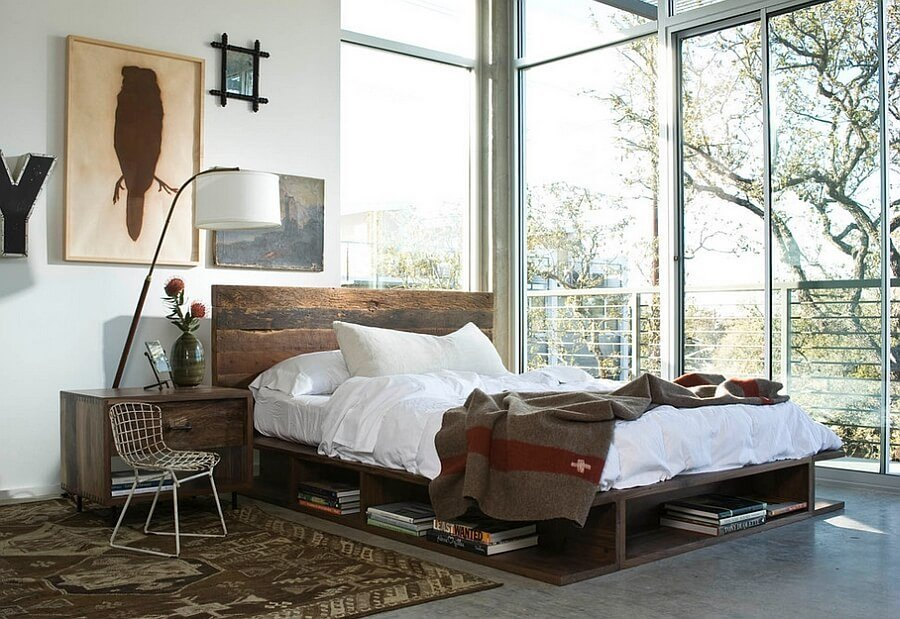 Airy Indsutrial Chic Bedroom
