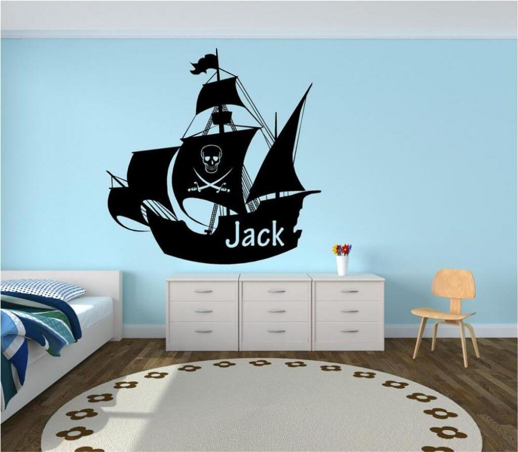 Fun Pirate Themed Bedroom Designs For Kids - https://interioridea ...