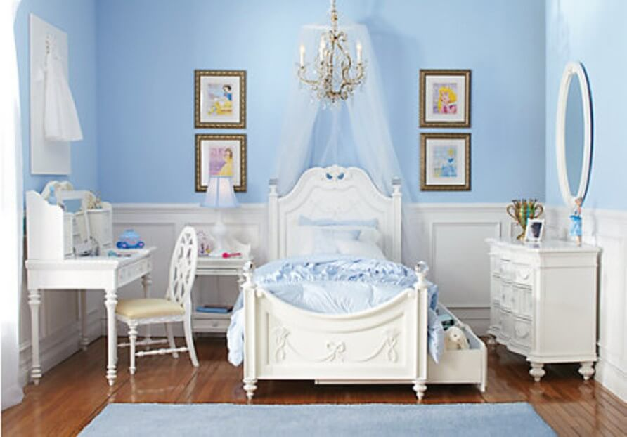 10 princess themed girl 39 s bedroom design ideas https for Princess room furniture