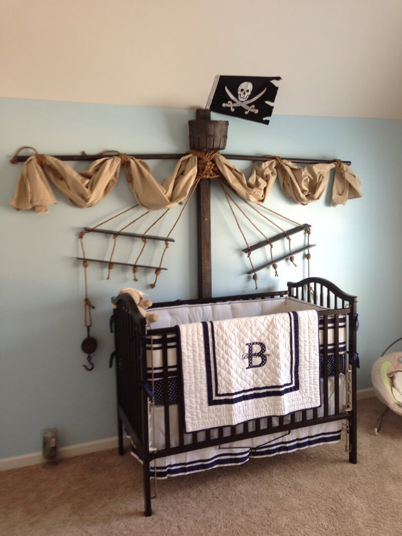 8 fun pirate themed bedroom designs for kids https decorating theme bedrooms maries manor pirate bedrooms