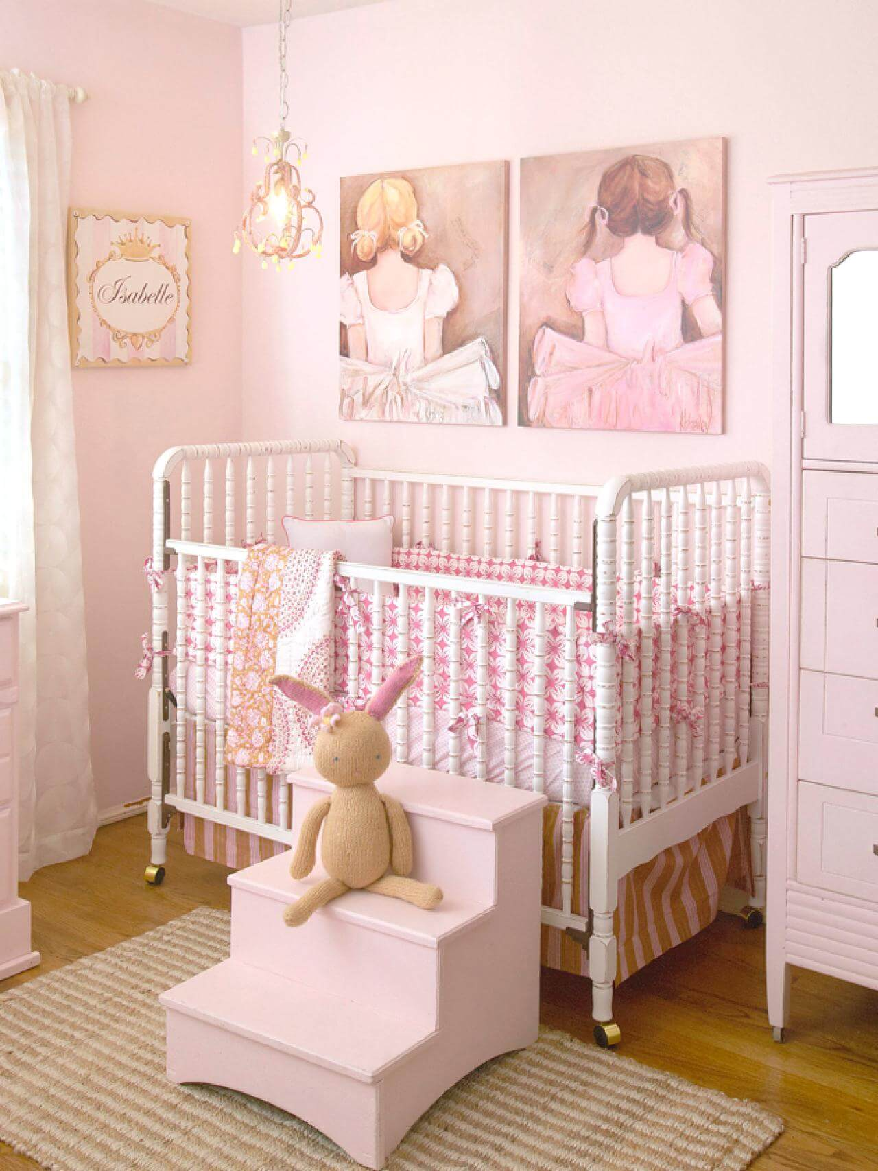 Princess Inspired Girls Bedroom