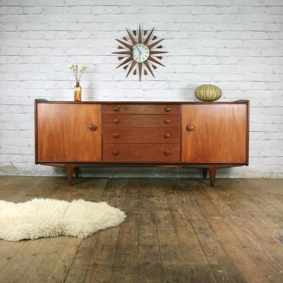 12 mid century modern sideboard ideas. Black Bedroom Furniture Sets. Home Design Ideas