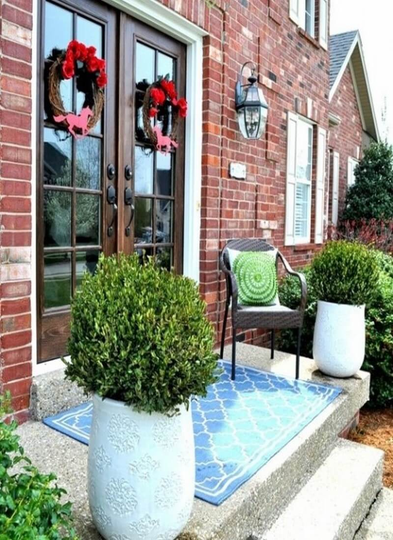 Welcome spring into your front porch 7 fresh inspiring Front veranda decorating ideas
