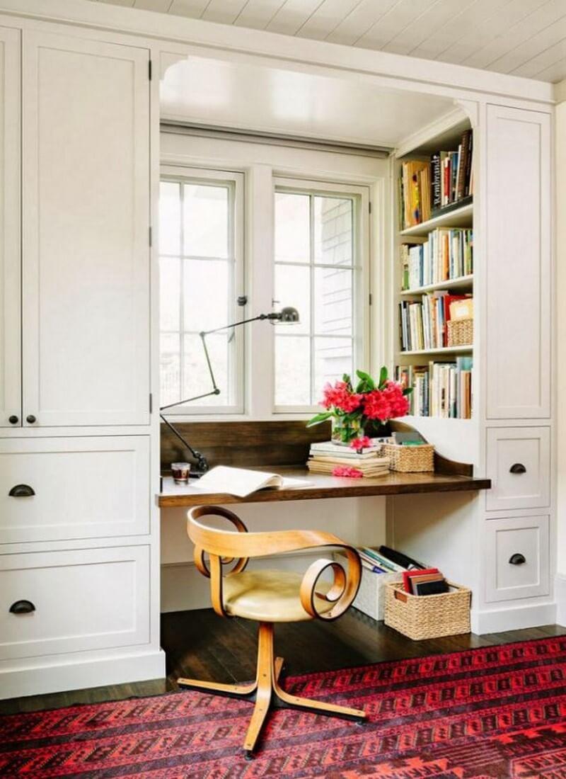 Цветовые схемы интерьера цветовые схемы интерьера Цветовые схемы интерьера для домашнего офиса built in bookshelves ideas for your home decor 6