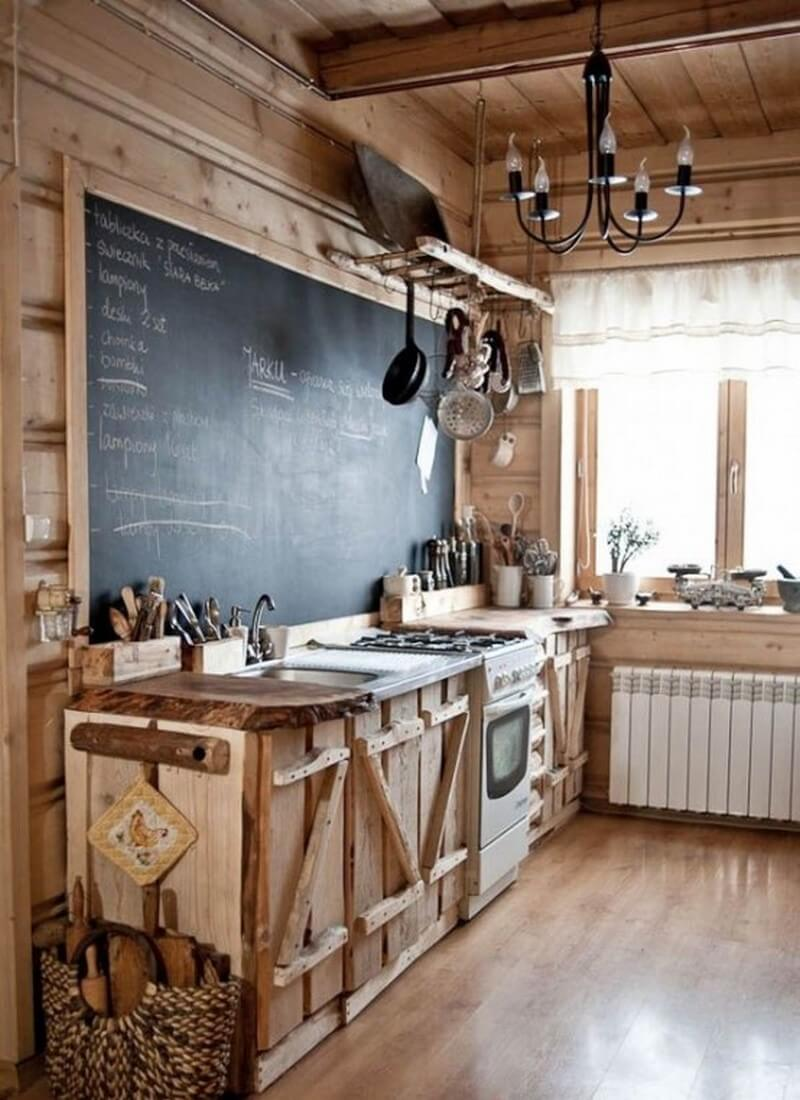 9 super cool kitchen designs with chalkboard wall https for Cool kitchen remodel ideas