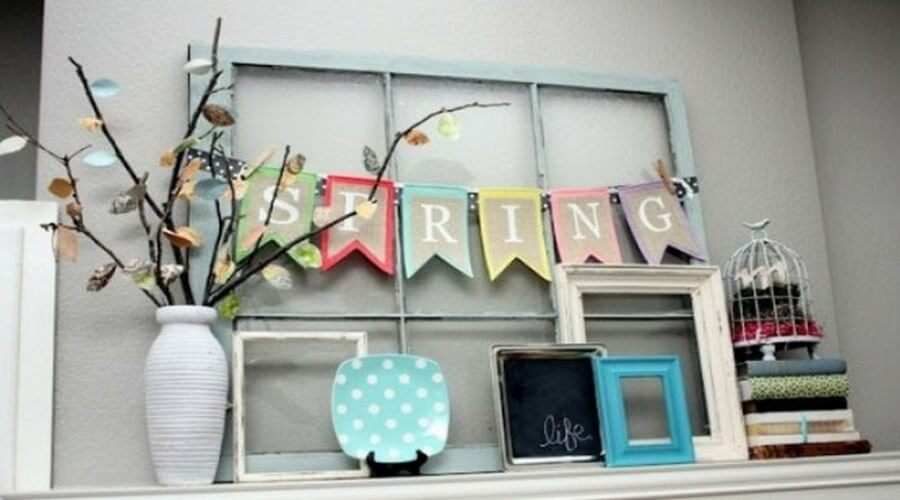 10 Ideas for Super Fresh and Charming Spring Mantels - https ...