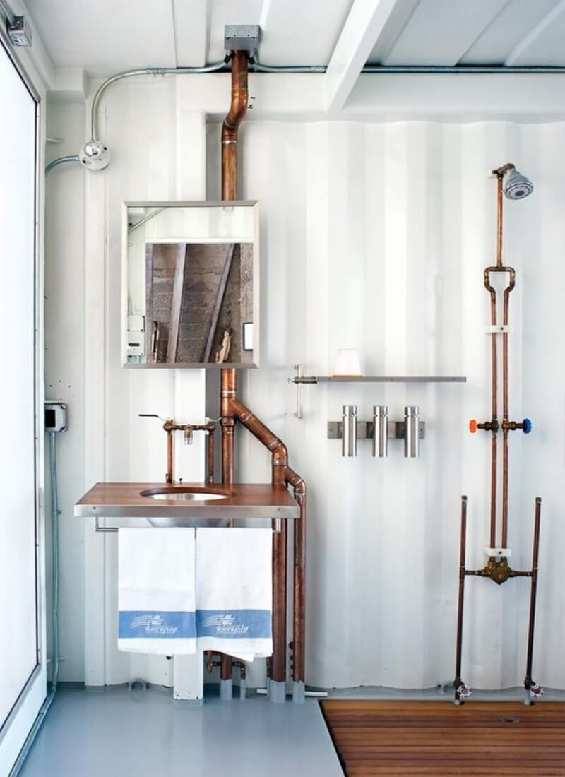 8 Home Decor Ideas with Exposed Pipes for a Superb ...