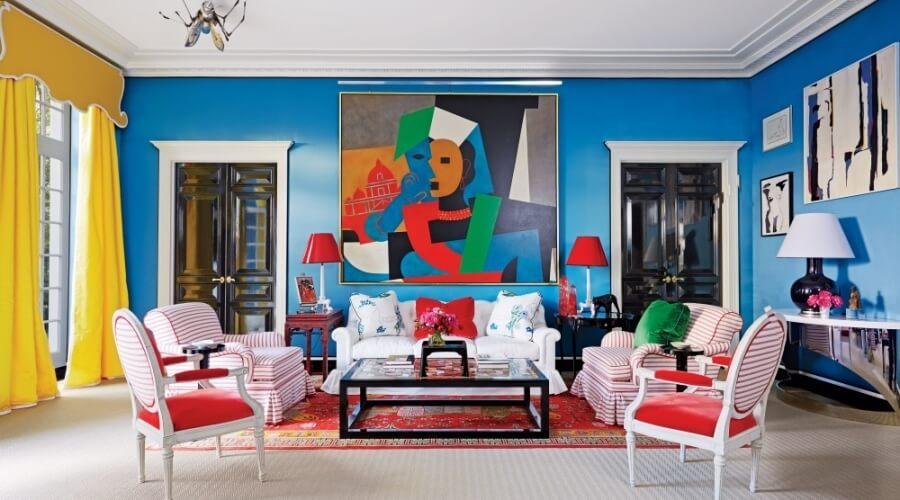 9 Modern High Contrast Living Room Designs Https