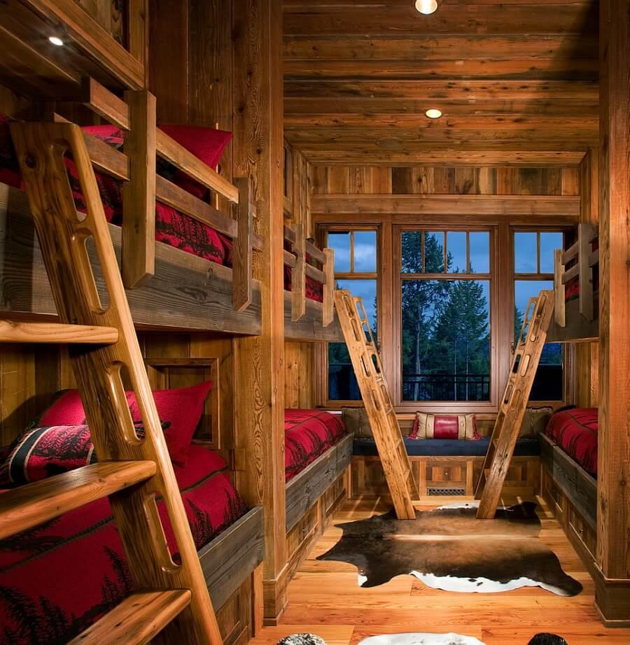 Amazing Rustic Kid's Bedroom