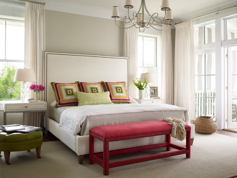 bedroom ottomans in 10 stylish and elegant designs https