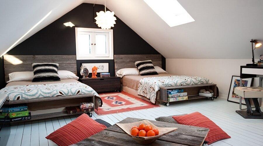 Attic Kid's Bedroom