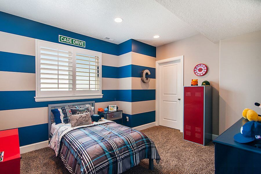 Blue Accent Wall