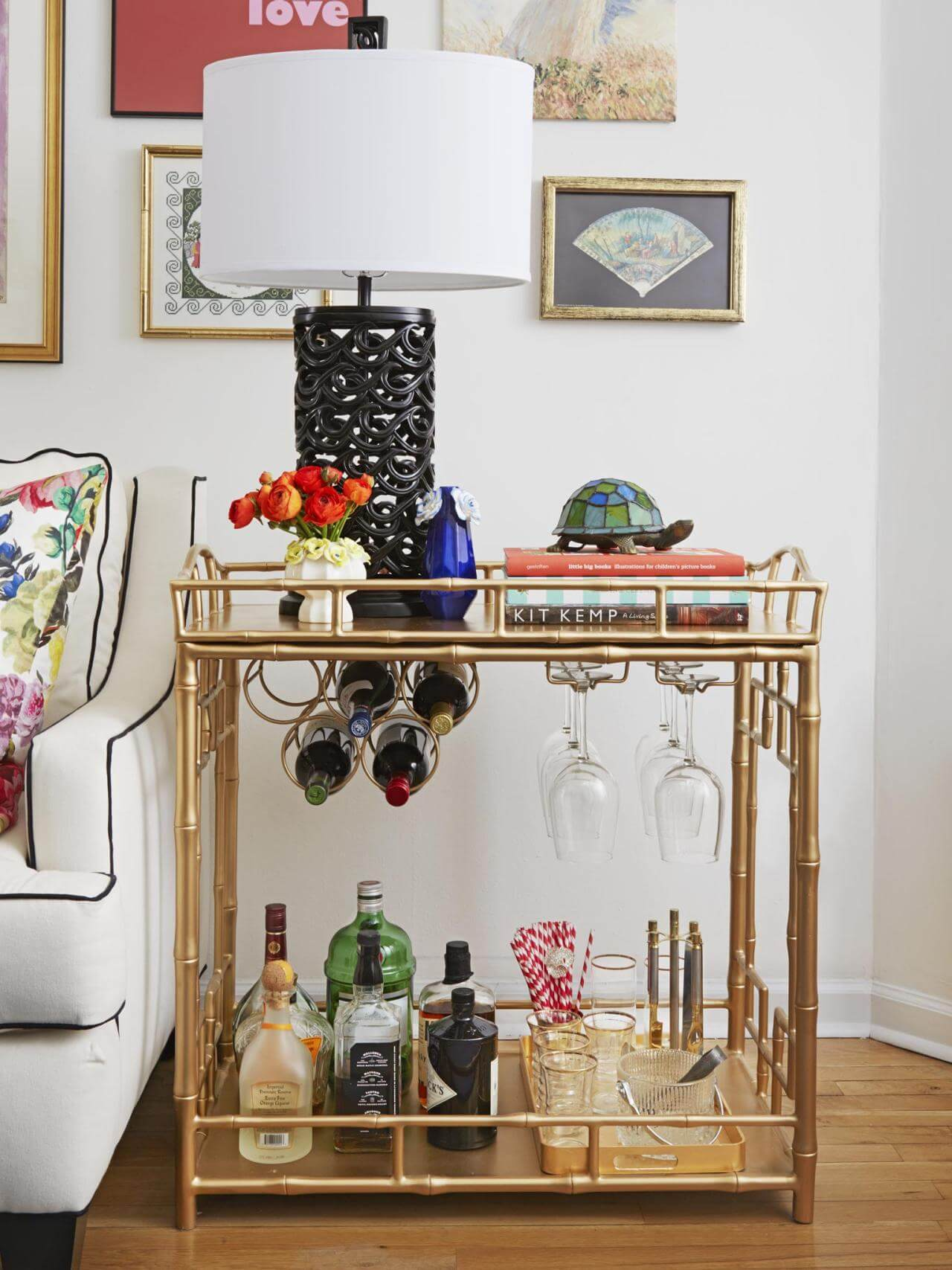 Bar cart kitchen bar cart home design ideas wonderful in kitchen