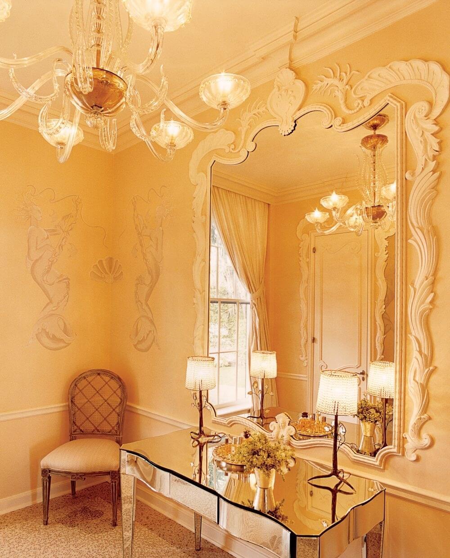 Classy Yellow Bathroom