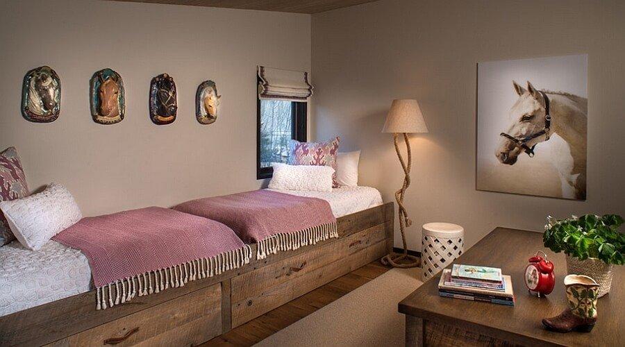 Modern Rustic Kid's Bedroom
