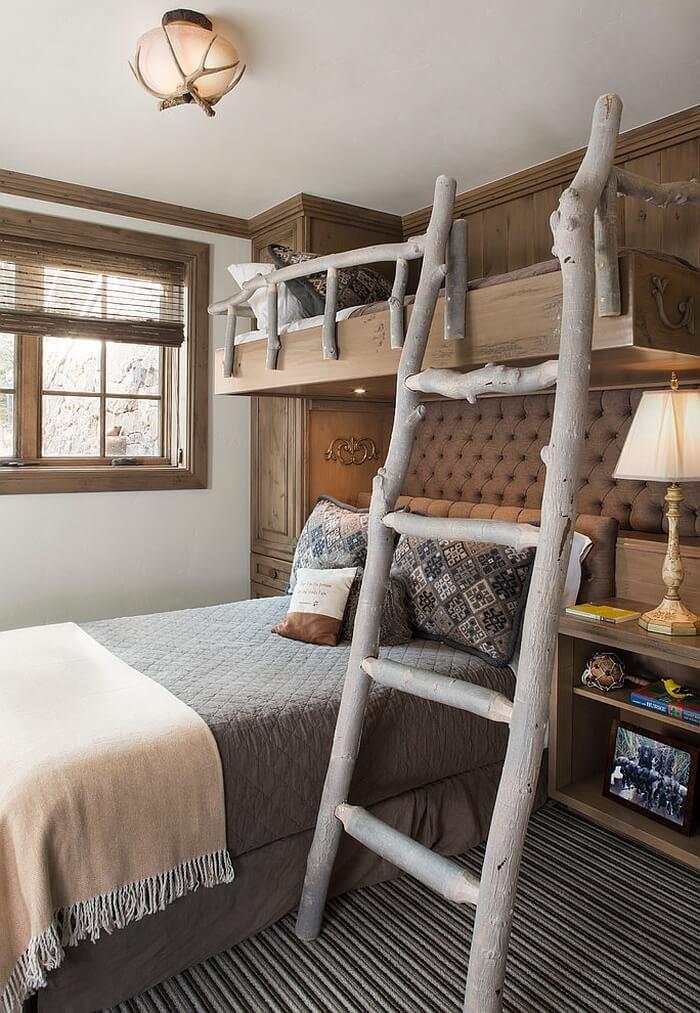 14 Rustic Kid's Bedroom Design Ideas - Interior Idea