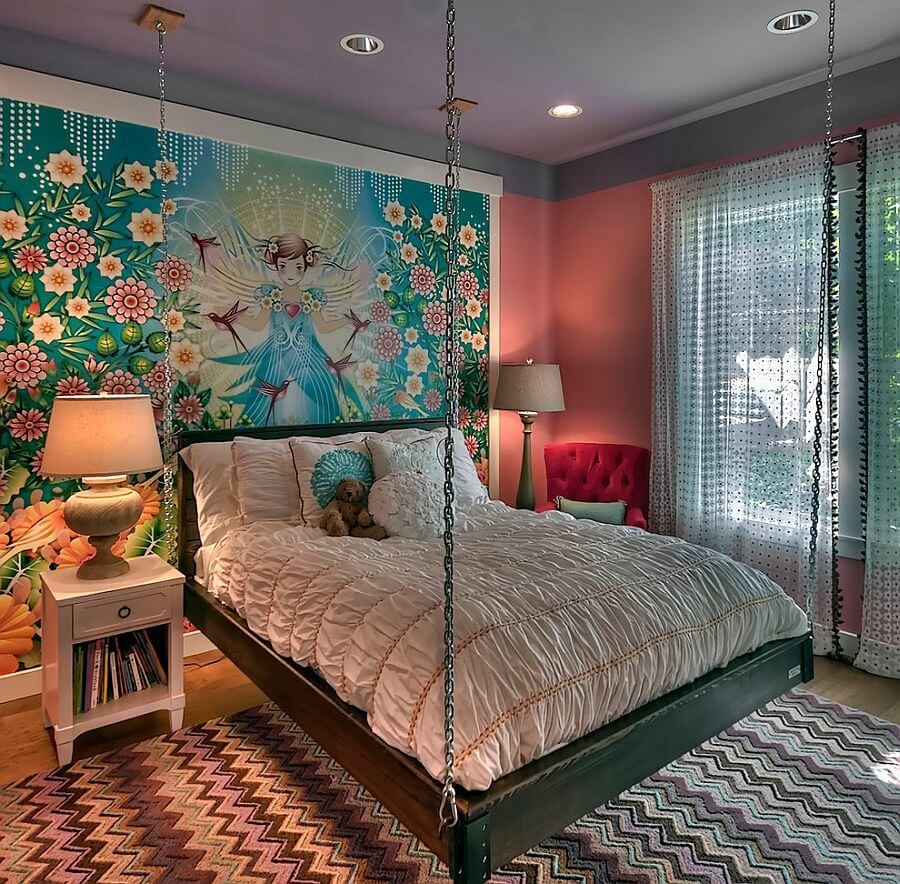 Quirky and Fabolous Accent Wall