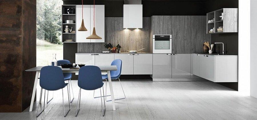 Sleek Contemporary Kitchen