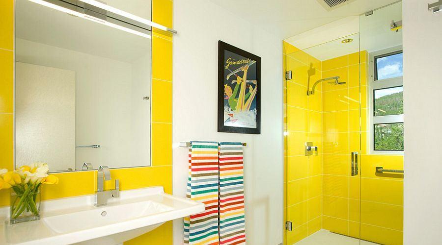 bathroom ideas yellow
