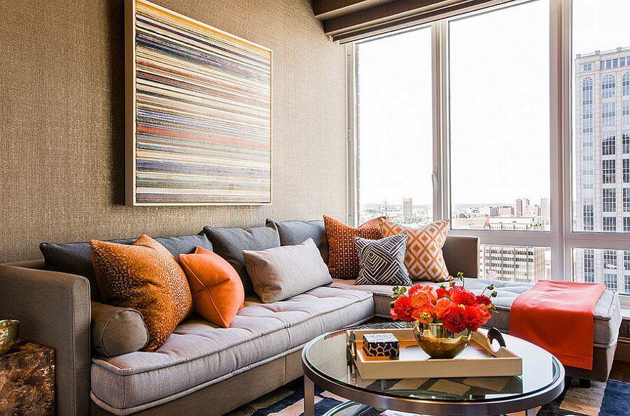 Ash White Sectional Sofa
